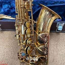 YAMAHA YAS-62 Alto Saxophone with case ACCEPTABLE