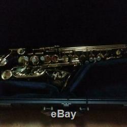 Yamaha Alto Saxophone YAS82ZB Black Lacquer USED