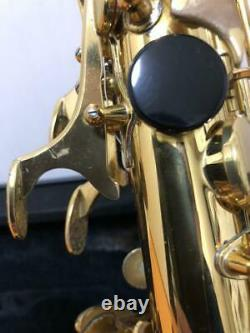 Yamaha Alto Saxophone YAS-62 Gold Lacquer Ready To Play Condition withHardCase JP