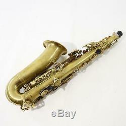 Yamaha Model YAS-82ZUL Custom Professional Alto Saxophone SN C78814 UNLACQUERED