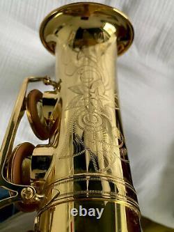 Yamaha YAS62 II Professional Alto Saxophone Gold Lacquer