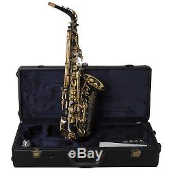 Yamaha YAS82Z IIB Custom Professional Alto Saxophone in Black Lacquer