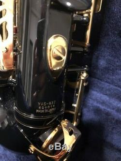 Yamaha YAS82Z IIB Professional Alto Saxophone in Black Lacquer