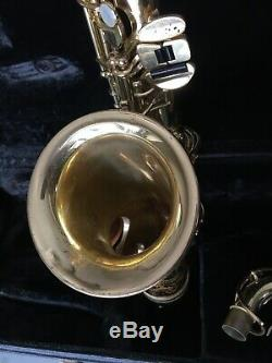 Yamaha YAS-61 Alto Saxophone Gold
