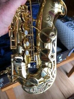 Yamaha YAS-62 ALTO Sax, gold lacquer, brand new, Japanese, purple label