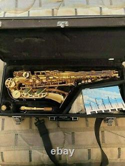 Yamaha YAS-62 Alto Saxophone. Barely Used