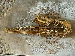 Yamaha YAS 62 Alto Saxophone Professional 62 Series Excellent Condition