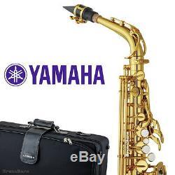 Yamaha YAS-62 III Alto Saxophone Gold Lacquered Finish