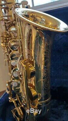 Yamaha YAS-62 III Professional Alto Saxophone Gold Lacquer