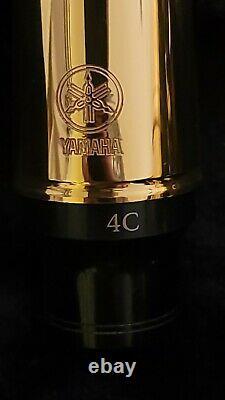 Yamaha YAS 62 Professional Alto Saxophone Gold + Case Excellent Condition