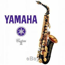 Yamaha YAS-82Z B II Custom Z Alto Saxophone Black Lacquer