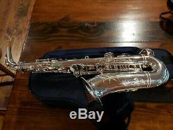 Yamaha YAS-875EX Custom Series Alto Saxophone Silver Plated