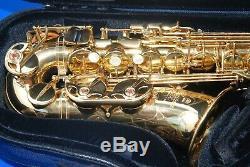 Yamaha YAS-875 EX Custom Professional Alto Saxophone Just Fully Serviced