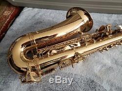Yanagisawa A991 Professional Alto Saxophone with high F# JAPAN GREAT SHAPE