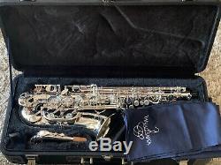 Yanagisawa AWO1S Professional Alto Saxophone, Silver Plated, New