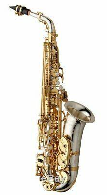 Yanagisawa AWO37 Professional Eb Alto Saxophone, All Sterling Silver