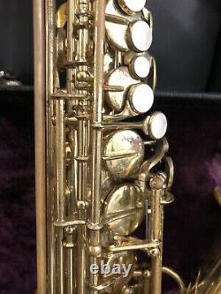 Yanagisawa A-5 Alto Saxophone, Stencil Dorado 600, Proline Horn